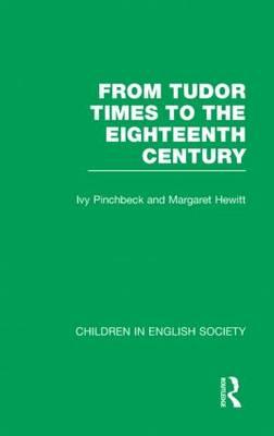 Children in English Society Vol1 by Hewitt