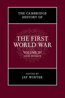 The The Cambridge History of the First World War: Volume 3, Civil Society by Jay Winter