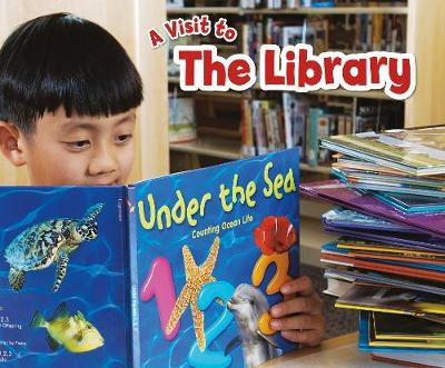 The The Library: A 4D Book by Blake A. Hoena