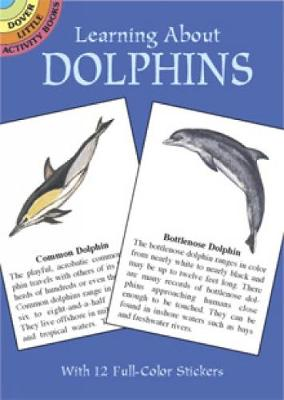 Learning about Dolpins Stickers by Sy Barlowe