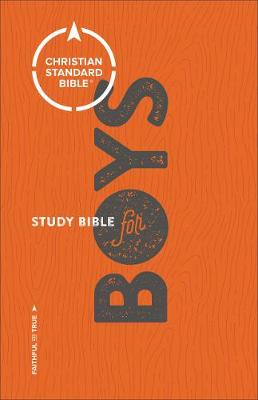 CSB Study Bible for Boys by Larry Richards