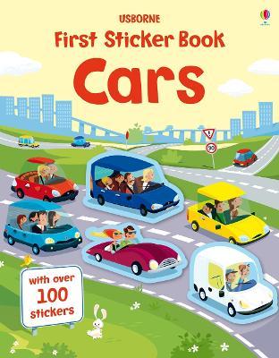 First Sticker Book Cars book