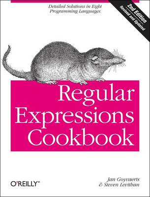 Regular Expressions Cookbook by Steven Levithan