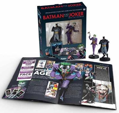 Batman and The Joker Plus Collectibles by Nick Abadzis