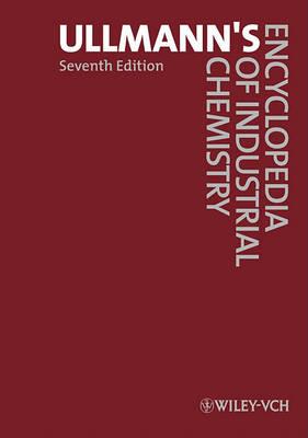 Ullmann's Encyclopedia of Industrial Chemistry, 40 Volume Set by Wiley-VCH