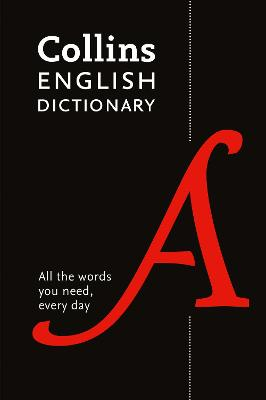 Paperback English Dictionary Essential: All the words you need, every day (Collins Essential) book