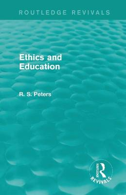 Ethics and Education (REV) RPD book
