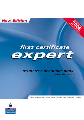 FCE Expert New Edition Students Resource book ( no Key ) for Pack by Richard Mann