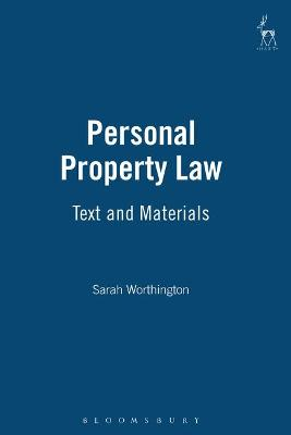 Personal Property Law by Sarah Worthington