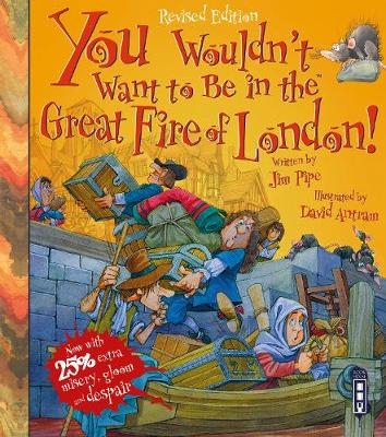 You Wouldn't Want To Be In The Great Fire Of London! book