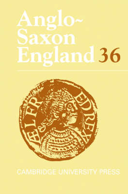 Anglo-Saxon England: Volume 36 by Malcolm Godden