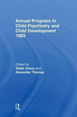 1983 Annual Progress in Child Psychiatry book
