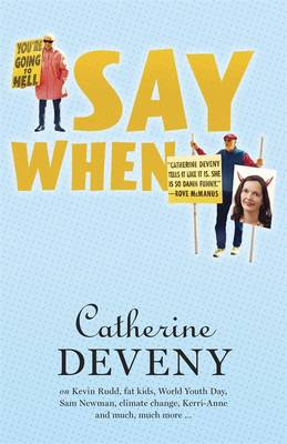 Say When book