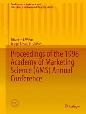 Proceedings of the 1996 Academy of Marketing Science (AMS) Annual Conference by Elizabeth J. Wilson