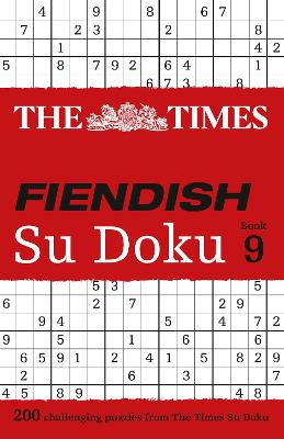 The Times Fiendish Su Doku Book 9 by The Times Mind Games