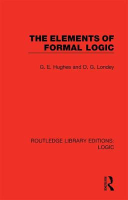 The Elements of Formal Logic book