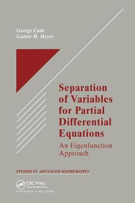 Separation of Variables for Partial Differential Equations: An Eigenfunction Approach book