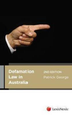 Defamation Law In Australia book