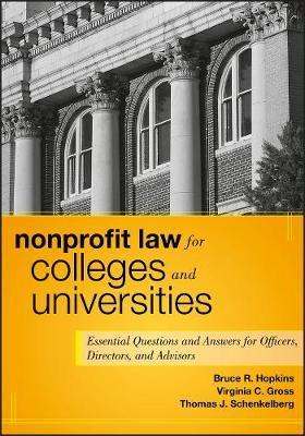 Nonprofit Law for Colleges and Universities by Bruce R. Hopkins