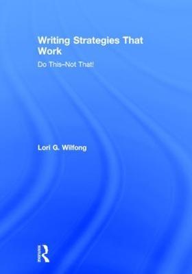 Writing Strategies That Work book