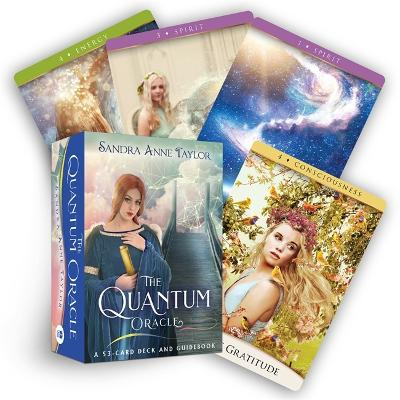 The Quantum Oracle: A 53-Card Deck and Guidebook by Sandra Anne Taylor