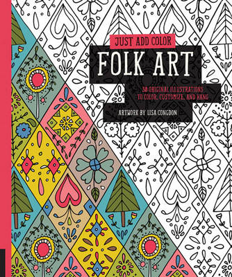 Just Add Color: Folk Art book