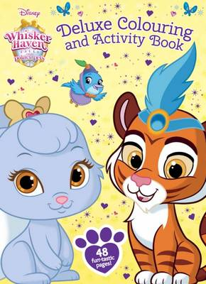 Whisker Haven Deluxe Colouring and Activity Book book
