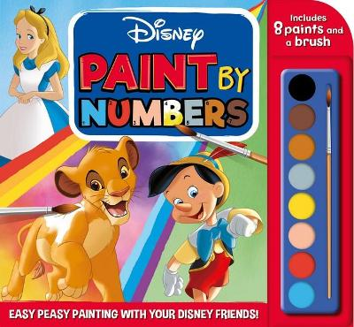 Disney: Paint by Numbers book