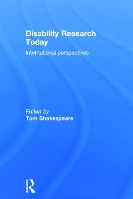 Disability Research Today book