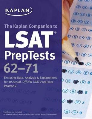 LSAT Preptests 62-71 Unlocked book
