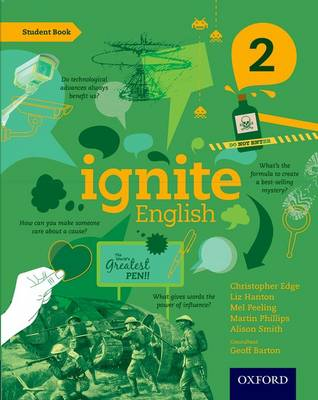 Ignite English: Student Book 2 by Christopher Edge