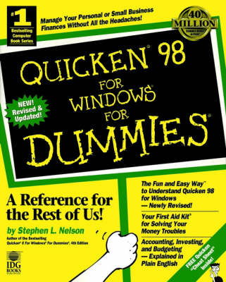 Quicken 98 for Windows for Dummies by Stephen L. Nelson