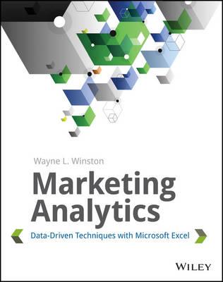 Marketing Analytics by Wayne L. Winston