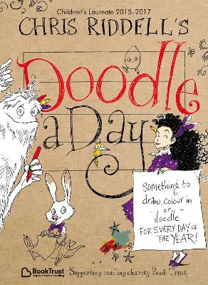 Chris Riddell's Doodle-a-Day by Chris Riddell