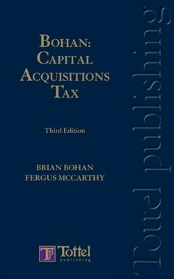Bohan: Capital Acquisitions Tax book