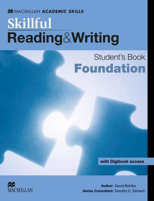 Skillful  - Reading and Writing - Foundation Level Student Book + Digibook by David Bohlke