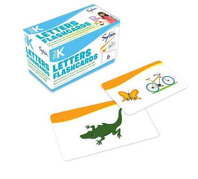 Pre-K Letters Flashcards book