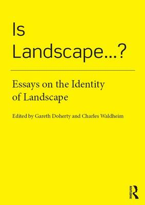 Is Landscape...? book