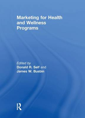 Marketing for Health and Wellness Programs book