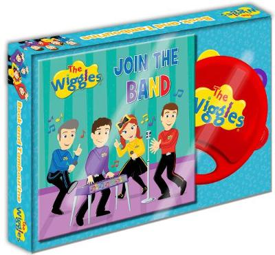 The Wiggles Join the Band Book and Tambourine by The Wiggles