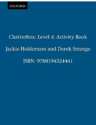 Chatterbox by Jackie Holderness