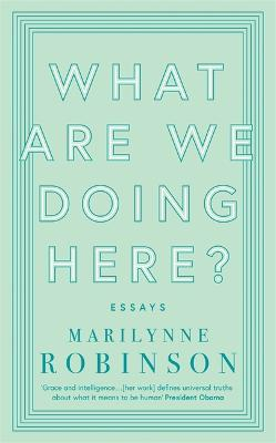 What are We Doing Here? book