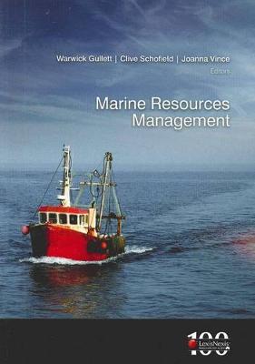 Marine Resources Management by Schofield & Vince Gullett