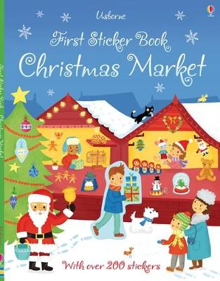 First Sticker Book Christmas Market by James Maclaine