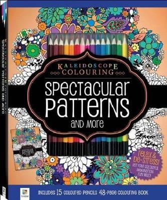 Spectacular Patterns Colouring Kit with 15 Pencils by