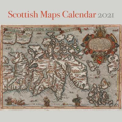 Scottish Maps Calendar 2021 by