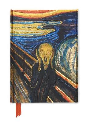 Edvard Munch: The Scream (Foiled Journal) by Flame Tree Studio