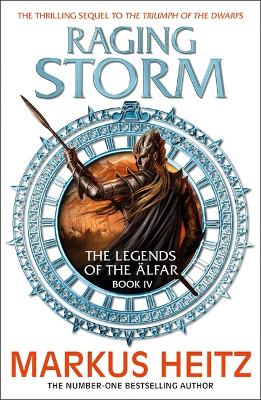 Raging Storm: The Legends of the Alfar Book IV book