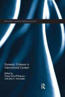 Domestic Violence in International Context book