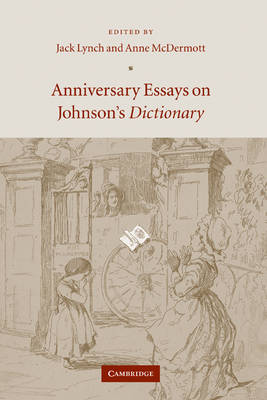 Anniversary Essays on Johnson's Dictionary book